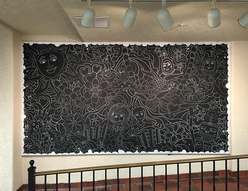 chalkmural