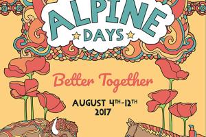 Alpine Days 2017 Poster
