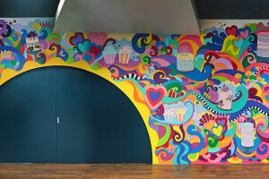 Mighty Baker Mural